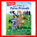 Write-On Wipe-Off Farm Friends Book