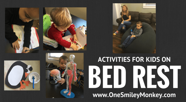 activities for kids on bed rest