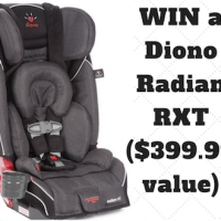 diono radian rxt review and giveaway