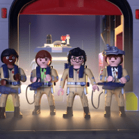 NEW Playmobil Ghostbusters Firehouse