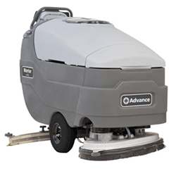 Walk Behind Floor Scrubbers for Rent from Advance Floor Scrubbers
