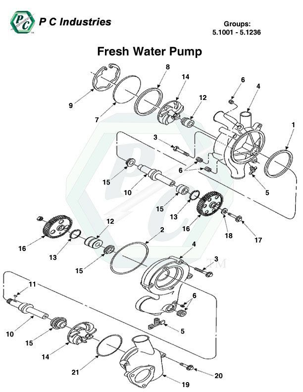 Water Pump Seal Ring