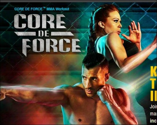Core De Force snip from home page