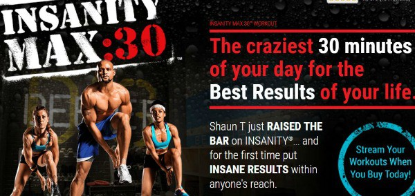 Insanity Max:30 is my favorite cardio series