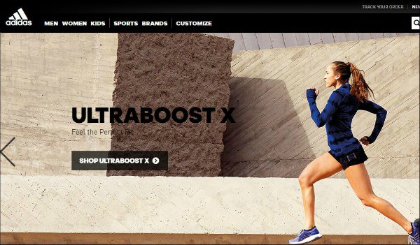 Adidas is one of the top gym apparel sites for women