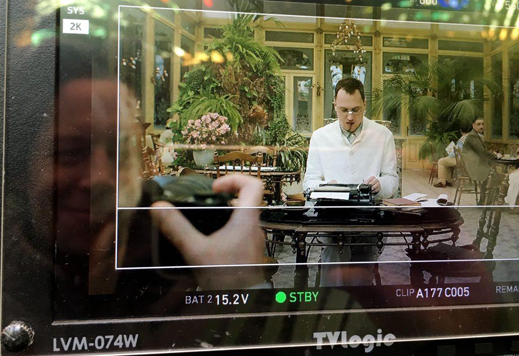 Lars Eidinger, Anton Weber, David Slama, Brecht Dreigroschenfilm