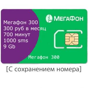 мегафон 300