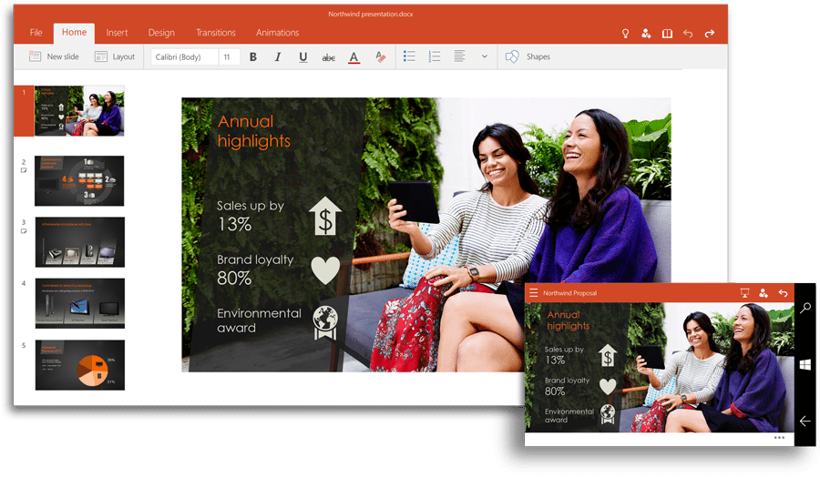 Power Point for Windows 10
