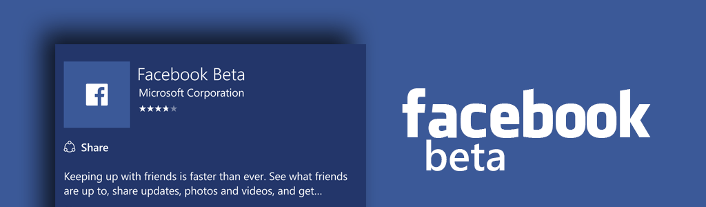 Facebook Beta App for Windows 10 Mobile receives Update with