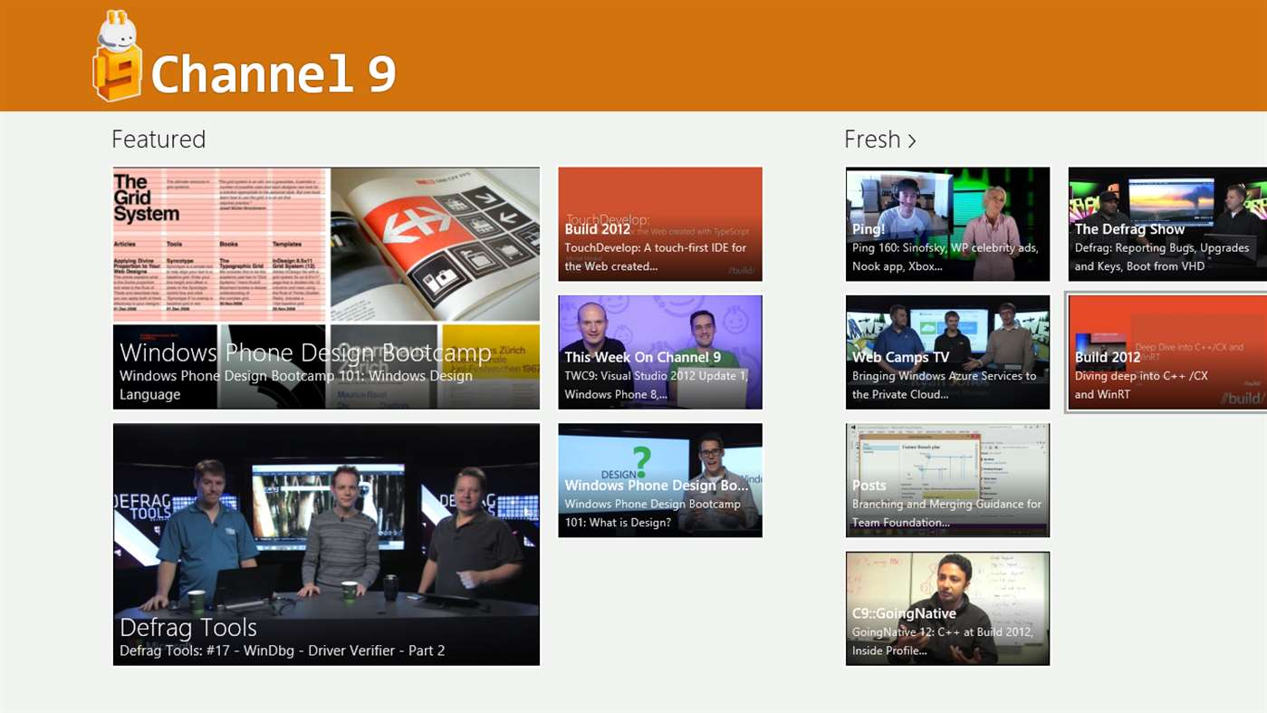 Channel 9 app updated to UWP with new update - OneTechStop