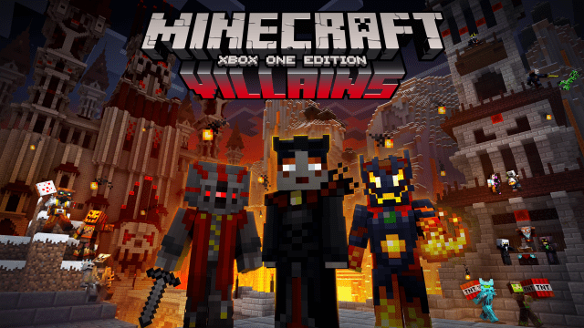 Minecraft-Xbox-One-Villains