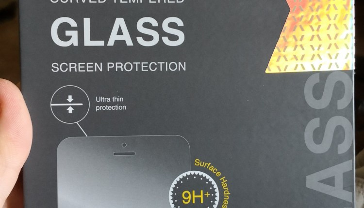 Box of screen protector