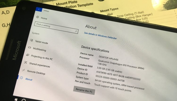 Hacker releases steps to install Windows 10 on ARM on Lumia 950 XL