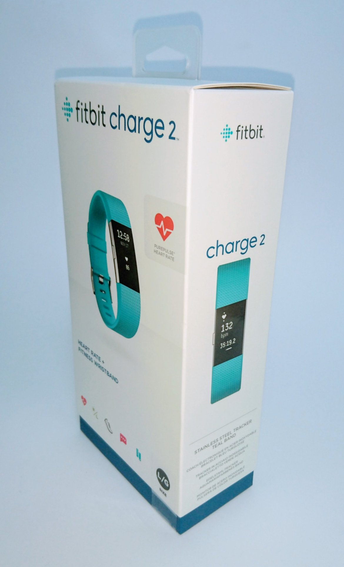 Fitbit Charge 2 box front