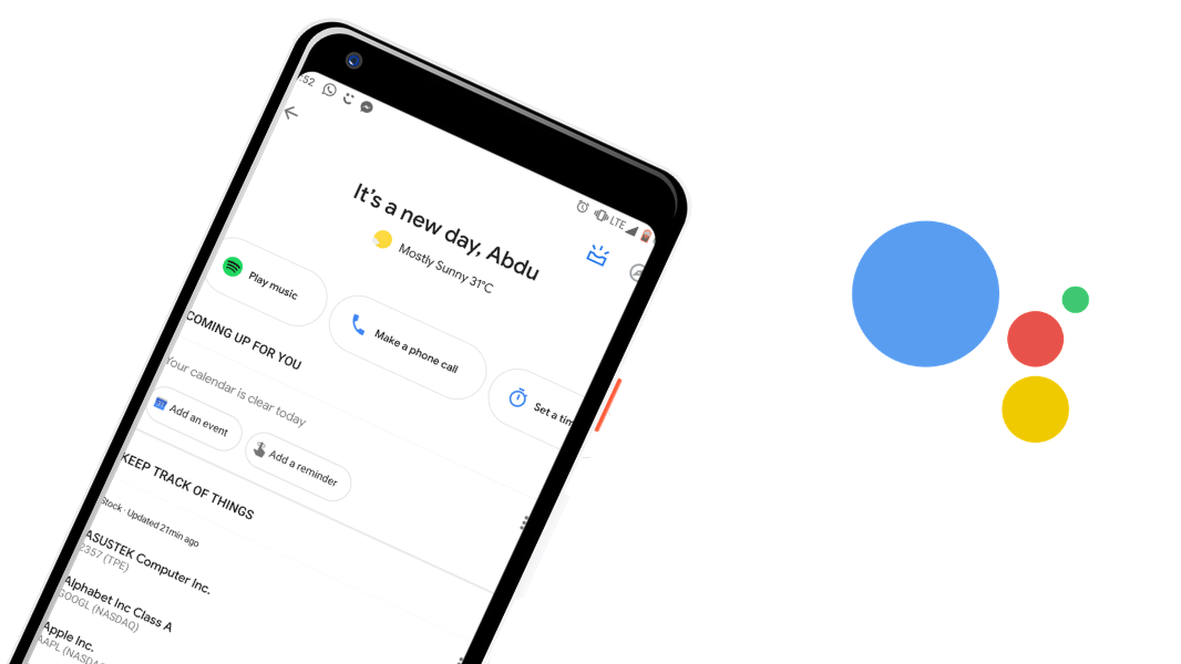 Google Assistant might send a text even on the lock screen