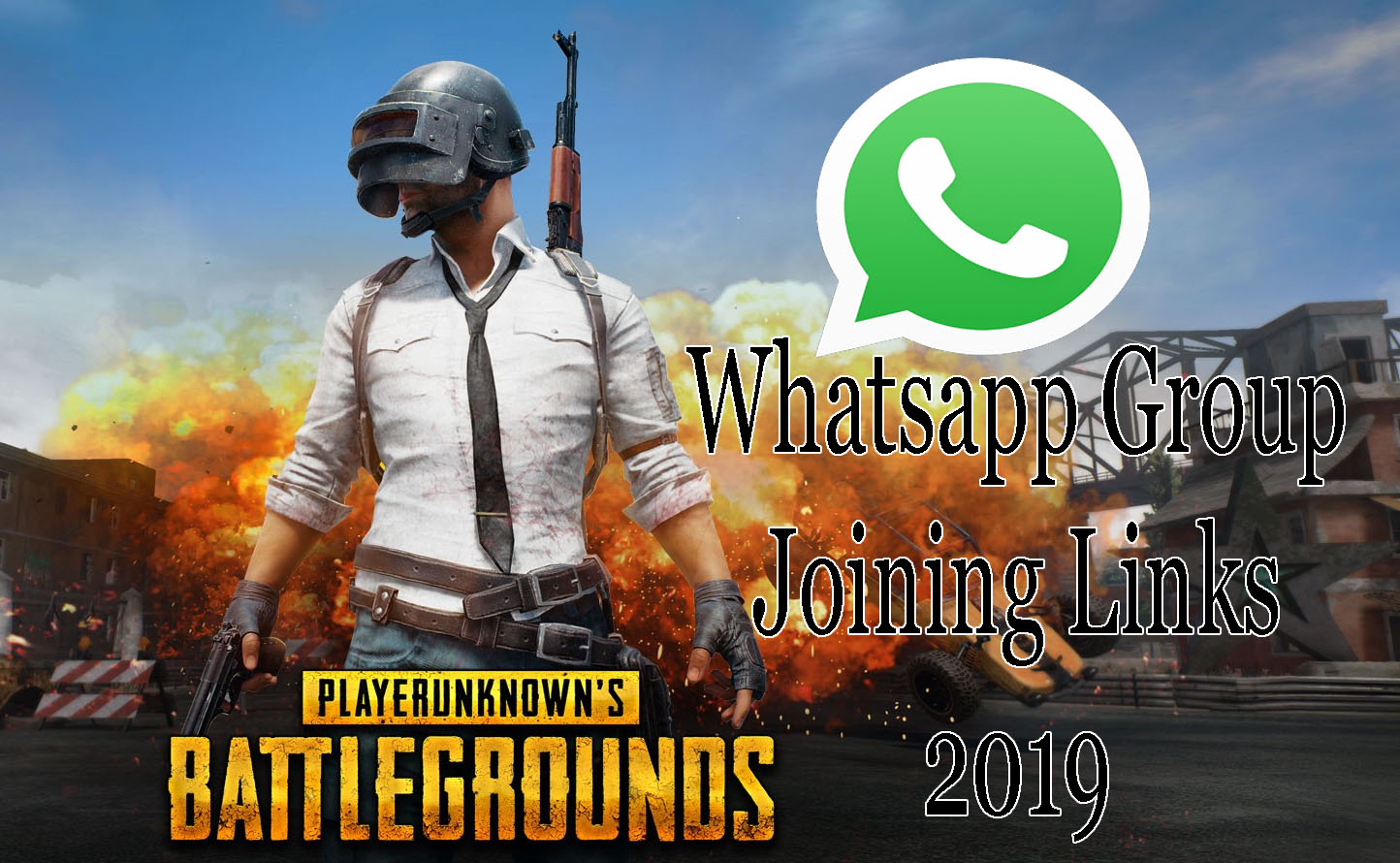 PUBG Whatsapp Group Links 2019 : Join 500+ Whatsapp Groups (Latest)