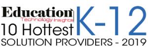 10 Hottest K-12 Solution Providers - 2019 Logo