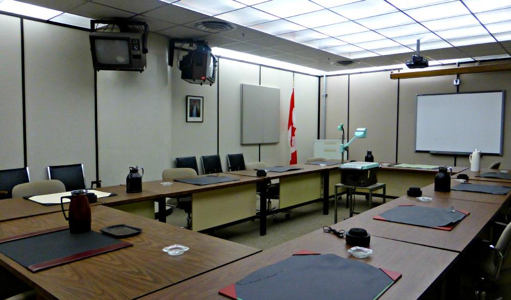 Diefenbunker War Cabinet Room