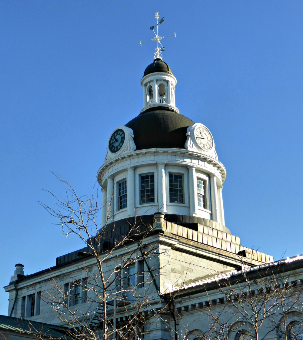 Kingston City Hall Dome