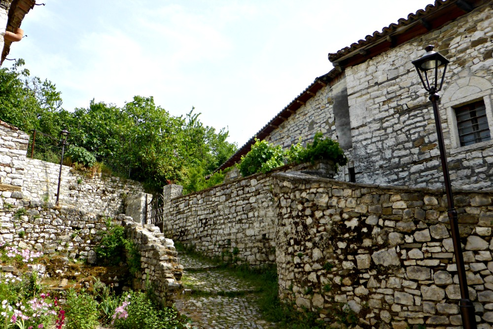 Homes in Berat Castle, Albania