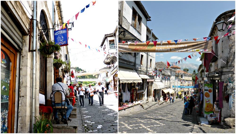 Bazaar of Gjirokastra, Albania