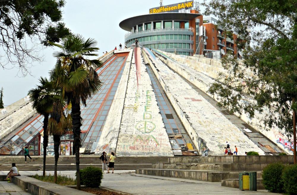 Pyramid, Tirana, Albania