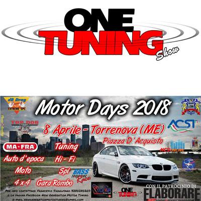 MOTOR DAYS TORRENOVA – 8 APRILE 2018