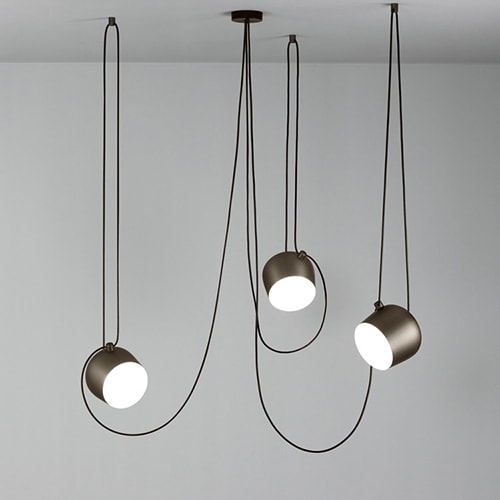 flos aim dimmable pendant lamp 3 heads