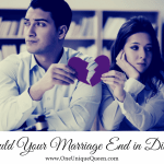 Should Your Marriage End in Divorce?