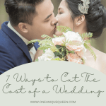 7 Ways to Cut The Cost of a Wedding