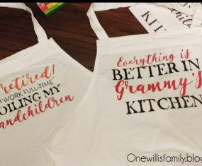 DIY Apron for Mothers Day
