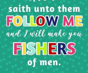 Free 2019 Scripture Printables for Come Follow me