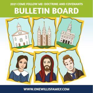 2021 Bulletine Board art