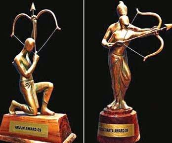 Boxer Mandeep Jangra Receives Arjuna Award 2015