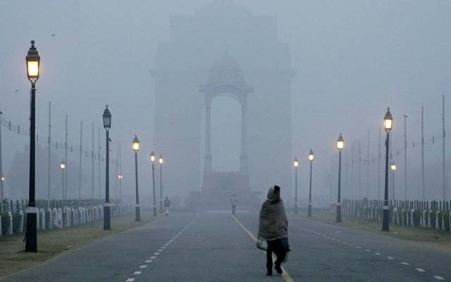 Delhi witnessed dirtiest air of the season today!