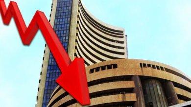 शेयर बाजारों में लगातार आ रही गिरावट