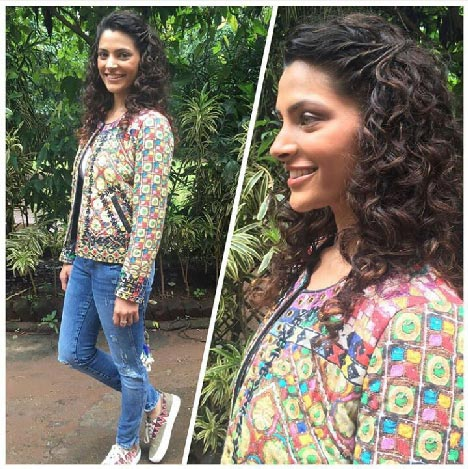 Meet the new  Fashionista of B- Town, Saiyami Kher