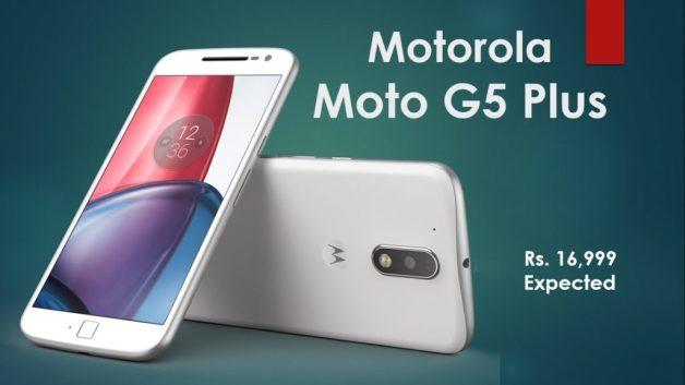 Moto G5 plus, expected price