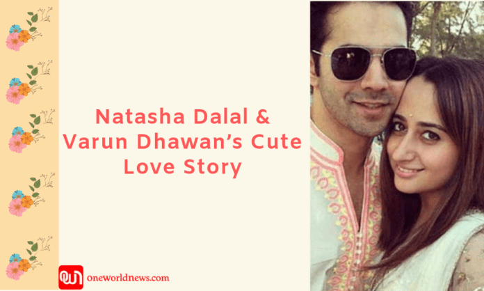 Natasha Dalal and Varun Dhawan's cute love story