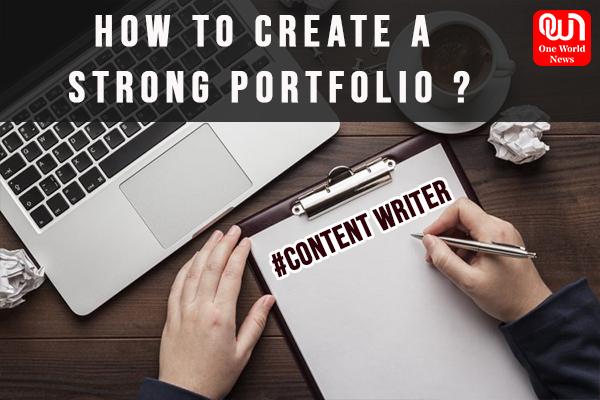Better portfolio for content writer