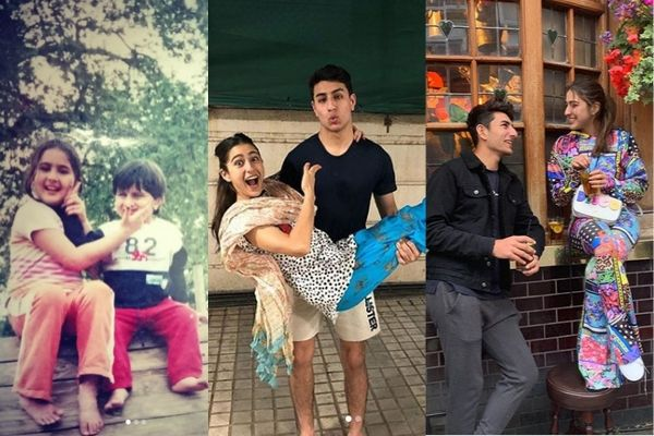 sara ali khan and ibrahim ali khan