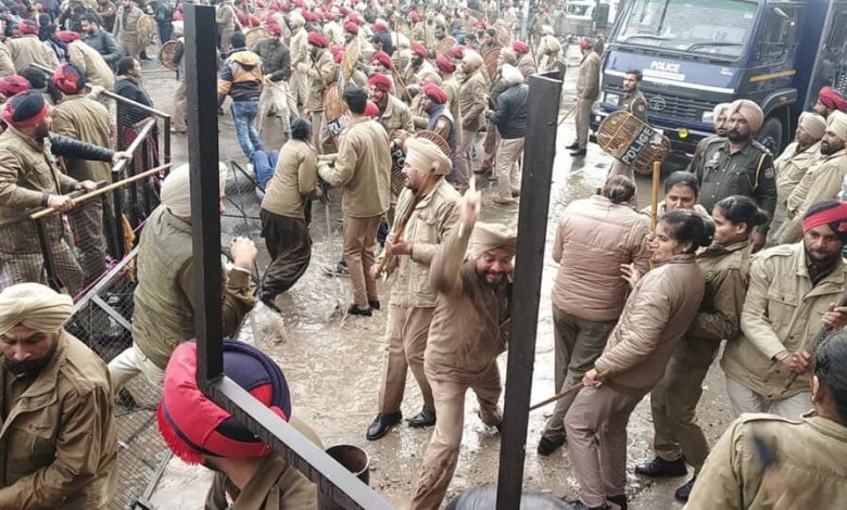 Teachers protest in Punjab