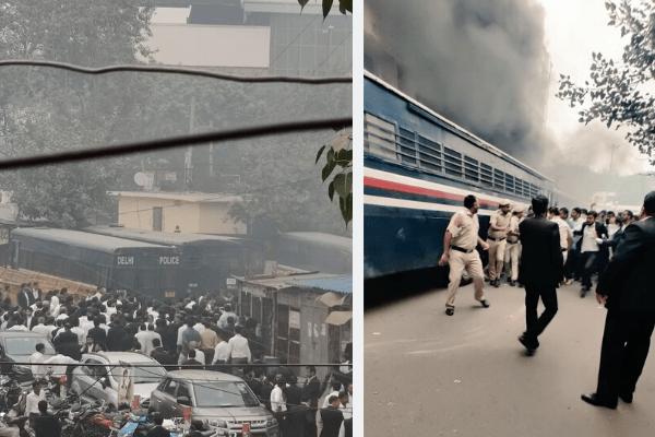 Delhi Court Clash