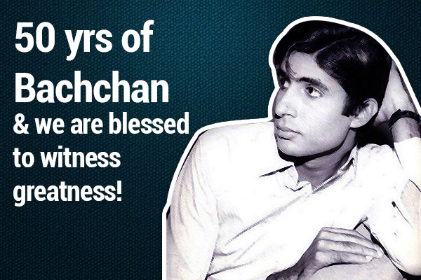 Amitabh Bachchan completes 50 years in B-Town