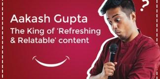 aakash gupta stand up comedy