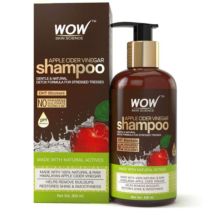 WOW Vinegar Sulphate Parabens Shampoo