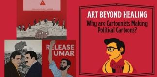 political cartoonist in india