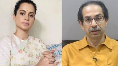 kangana and shiv sena