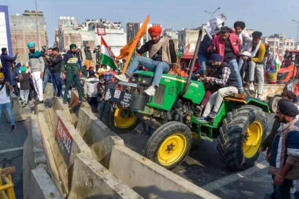 tractor rally violence