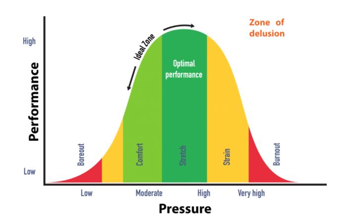 Performance, Pressure and stress